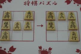【初級】2021/6/9の将棋パズル