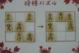 【初級】2021/8/5の将棋パズル